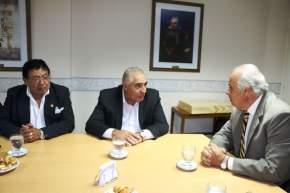 El vicegobernador Marcelo Lima con su par de Catamarca, Octavio Gutiérrez