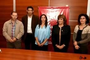 Directivos de la FFHA y funcionarios del Ministerio de Turismo firmaron convenio