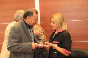 Entrega de tarjetas SUBE a cooperativistas