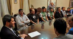 El gobernador Uñac homenajeó a la Selección Sanjuanina de Ciclismo