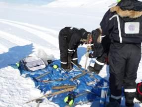 Prácticas de perforación de Permafrost