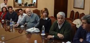Dirigentes de la UIA San Juan mantuvieron una reunión con el gobernador Uñac