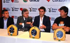 La Secretaría de Deportes, el Ministerio de Salud Pública y la Unión Sanjuanina de Rugby, entregaron a 4 clubes desfibriladores