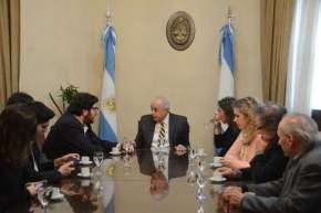 Pablo Avelluto fue recibido por el vicegobernador en ejercicio del Poder Ejecutivo, Marcelo Lima