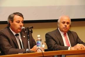 Presidieron el acto de apertura, el vicegobernador Marcelo Lima y el rector de la UNSJ, Oscar Nasisi