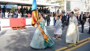 Desfile cívico militar conmemorando la Revolución de Mayo de 1910