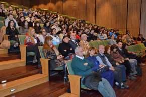 """Auditorio """"Eloy Camus"""" del Centro Cívico, inauguración de las """"I Jornadas sobre Medidas de Bioseguridad"""", destinadas a residentes 2016"""