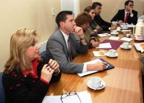 Legisladores se reunieron con el presidente de E.P.S.E., Víctor Doña