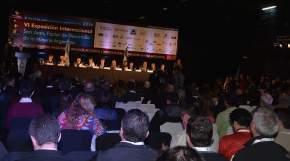 Acto inaugural de la 6ª exposición internacional de Panorama Minero