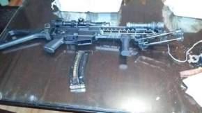 Fusil que llevaba López