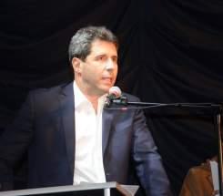 Se dirigió a los presentes el gobernador Sergio Uñac