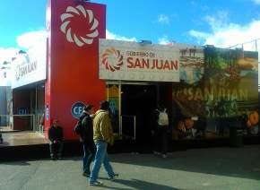 Stand de San Juan en La Rural
