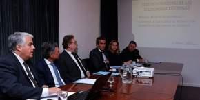El ministro de Producción sanjuanino, Andrés Díaz Cano expuso sobre los distorsionadores de las economías regionales