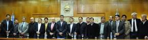 El Ejecutivo Provincial firmó convenio con el Banco San Juan para asistencia financiera para los municipios