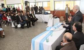 En la Unión Vecinal Barrio Santo Domingo, de Chimbas, tuvieron lugar las actividades organizadas por la Comisión Bicentenario