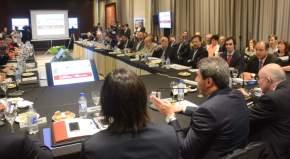 El gobernador Uñac inauguró la 453ª reunión y el 123° plenario del comité ejecutivo de la Comisión Federal de Impuestos
