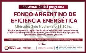 Fondo Argentino de Eficiencia Energética
