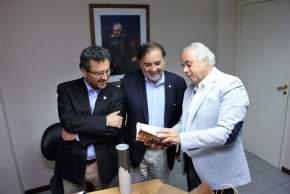 Lima recibió a Consejeros regionales de Valparaíso en la Legislatura