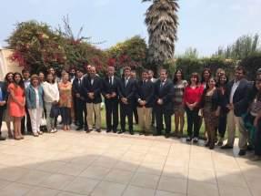 Reunión entre empresarios argentinos y chilenos donde elaboraron pautas de trabajo en torno al Corredor Bioceánico Central