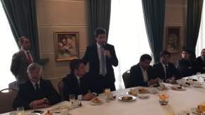 Reunión de empresarios argentinos y chilenos donde elaboraron pautas de trabajo en torno al Corredor Bioceánico Central