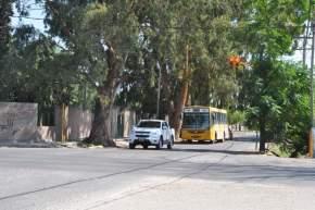 Semáforos en límite entre los departamentos Rawson y Pocito
