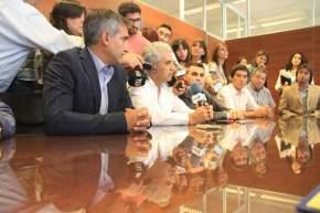 El Ministerio de Desarrollo Humano firmó 3 convenios con los municipios de Capital, Chimbas y 9 de Julio