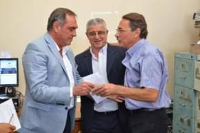 El ministro de Salud Pública, Castor Sánchez Hidalgo puso en funciones al director del Control de Reconocimientos Médicos, médico cardiólogo Daniel Aput