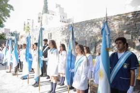 Acto del 206º aniversario del natalicio de Domingo F. Sarmiento