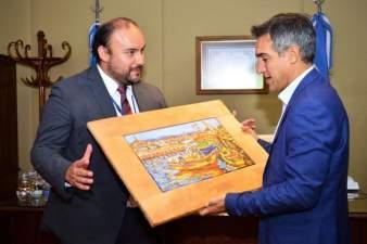 Visita del alcalde de Coquimbo