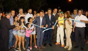 Inauguración de más de 7 km de repavimentación de calles de Capital