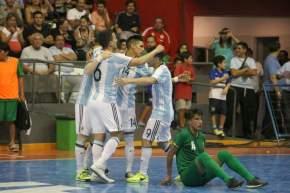 Argentina 6 Bolivia 1