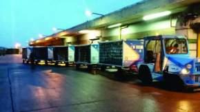 El Gobierno envió alimentos a Comodoro