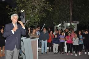 Dirige la palabra el intendente Juan Carlos Gioja