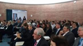 El rector de la UNSJ, Oscar Nasisi, en reunión del CPRES Región Cuyo