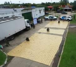 Interceptaron un camión Ford con caja térmica proveniente de Misiones, se dirigía rumbo a Buenos Aires