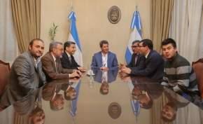 Presentación del Cónsul Honorario de Chile en San Juan