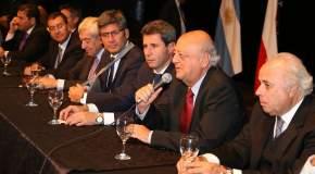 Dirigió la palabra el embajador de Chile en nuestro país, José Antonio Viera Gallo