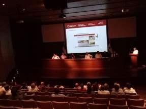 En el Auditorio Eloy Camus, del Centro Cívico, fue presentado el tramo completo que será impactado por los trabajos y la logística de los mismos