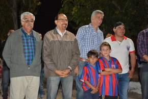 Inauguraron obras en el club San Damián