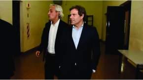 El juez de San Martín Marcelo Fernández y el juez de Morón Néstor Barral