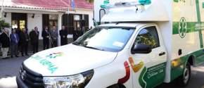 Entrega de ambulancia para Iglesia