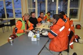 El ministro almorzó con operarios de Veladero para conocer inquietudes