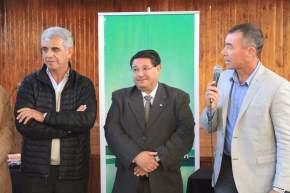 El intendente de Rivadavia, Fabián Martín agradece a los ministros provinciales por los beneficios a los vecinos de La Bebida