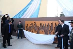 Inauguraron remodelaciones en Plaza Aberastain, de Pocito
