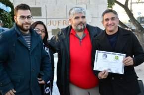 El Intendente Franco Aranda recibe mención cultural por parte del Movimiento de Fomento a la Cultura y Creación de las Bibliotecas Populares