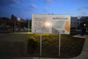"""Plaza del Bº FUVA """"Plaza del Veterano y Héroes Sanjuaninos Caídos en Malvinas"""