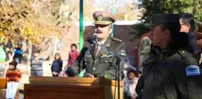 Comandante mayor Marcelo Bravi, jefe de la X Agrupación de Gendarmería Nacional con asiento en San Juan