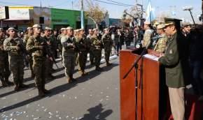Juran los soldados voluntarios del DIM 22