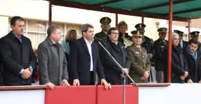 Desfile cívico militar en el aniversario de Jáchal