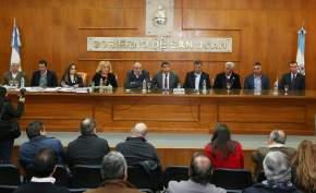 Acto de Apertura de Sobres de la Licitación para el Acueducto Gran San Juan,